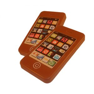 iPhone in chocolade