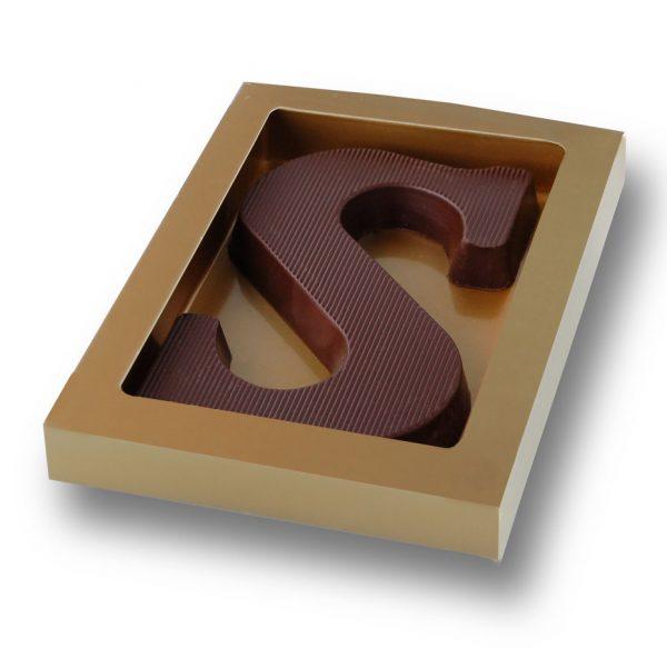 chocoladeletter doos