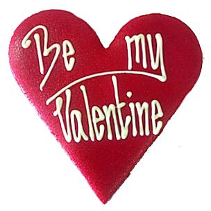 valentijn marsepein hart