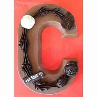 chocolade letter