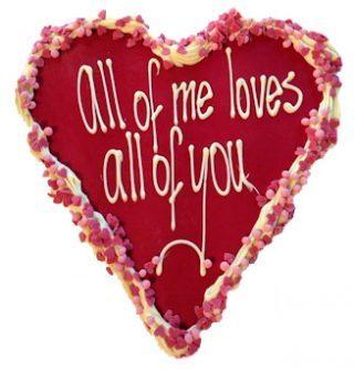 chocolade hart valentijn-rode