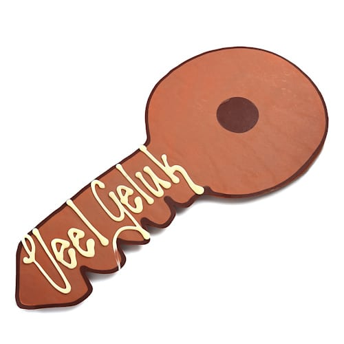 chocolade sleutel chocolade met tekst bestellen