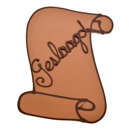 chocolade oorkonde