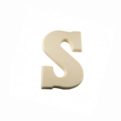Fairtrade chocoladeletters S