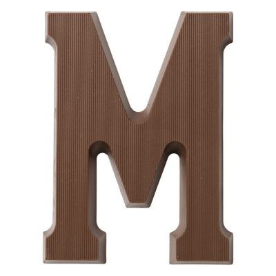 chocolade letter M