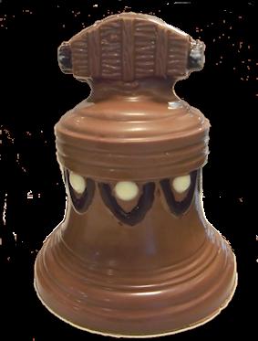 chocolade kerstbel