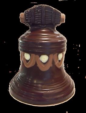 chocolade kerstbel puur