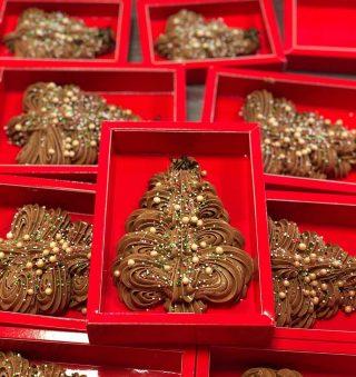 Chocolade kerstboom